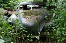 Car Graveyard #1 in Chatillon / Belgium